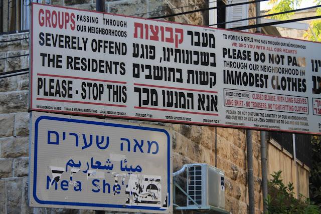 Visitar o bairro MEI SHEARIN - Um bairro judeu ortodoxo em Jerusalém | Israel