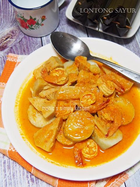 resep lontong sayur nangka