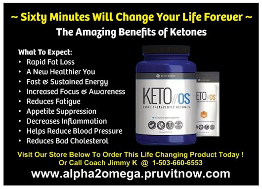 KETO OS ~ 60 Minutes Will Change Your Life Forever