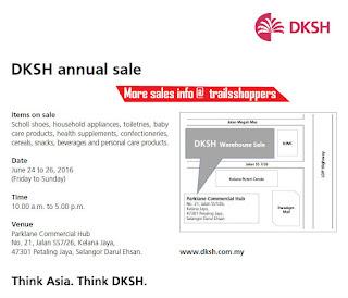 DKSH Annual Warehouse Sale Kelana Jaya