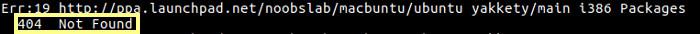 erro ao adicionar um novo repositorio no ubuntu