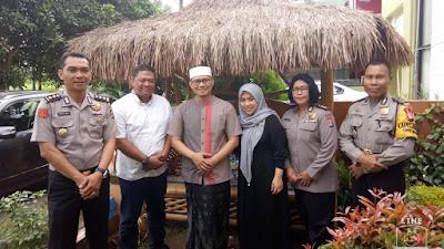 Kabid Kum Polda Banten : Silaturahmi Perkuat Ukuwah Islamiyah dalam Pelihara Kamtibmasy.