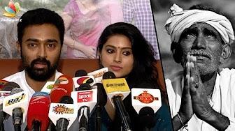 Actor Prasanna and Sneha donate money to FARMERS | Protest in Jantar Mantar