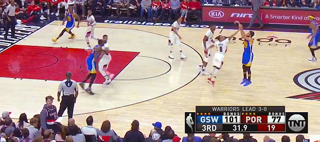 HIGHLIGHTS: Golden State Warriors vs. Portland Trail Blazers (VIDEO) Game 4 / West 1st Round