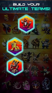 Game Digimon Heroes v1.0.45 Apk Mod + Data OBB Update terbaru Gratis -4