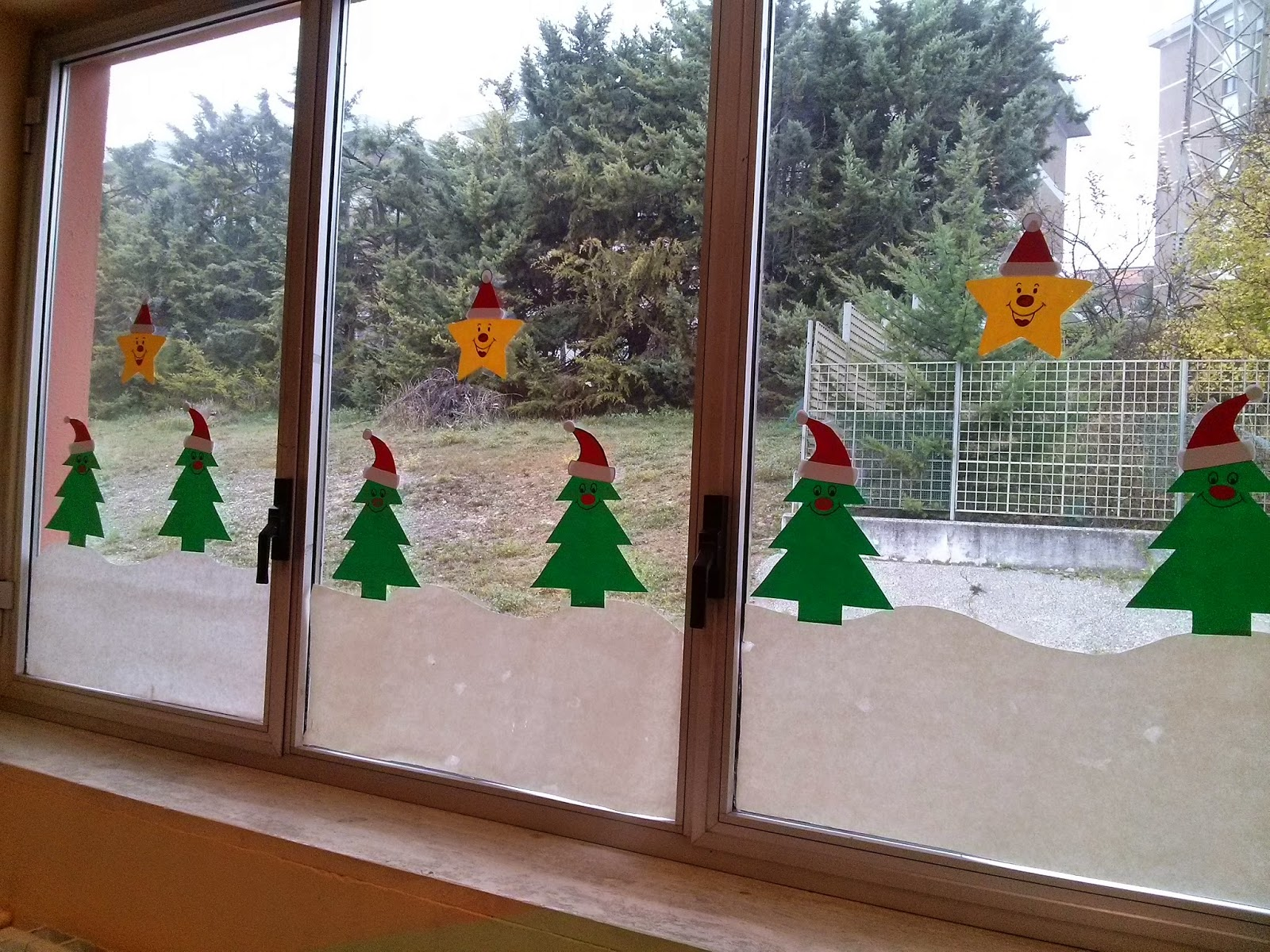 Lamiaula addobbo di natale nella mia aula for Addobbi natalizi per la classe