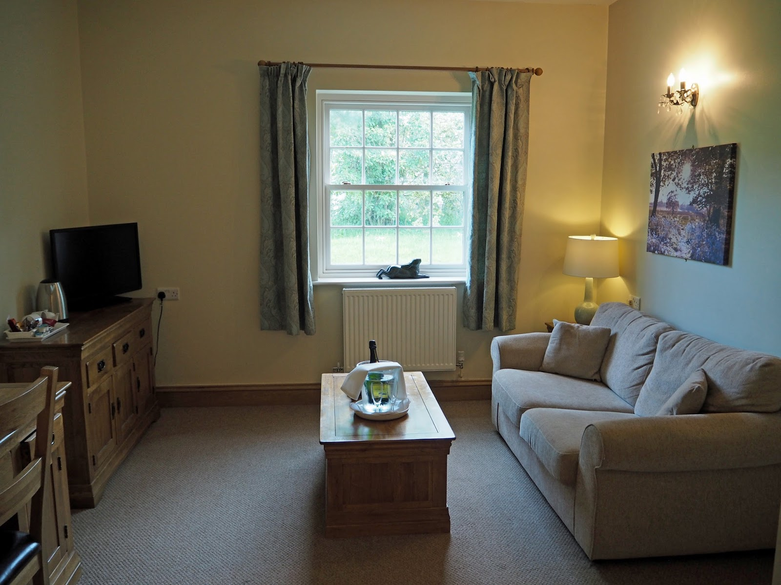 Suite at Ox Pasture Hall Country Hotel, Scarborough, Yorkshire, romantic hotel near beach in Scarborough