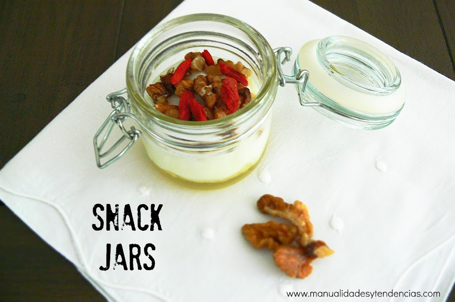 Snack energético para después del deporte
