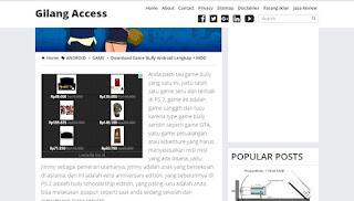 Memasang Iklan Adsense Diatas Postingan Blog
