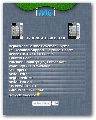Mobile-Mania: New Free Iphone Carrier Check with simlock status!