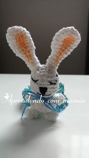 amigurumi, coelho em amigurumi, páscoa, Apostila Especial Circo, círculo, coelho dentro da cartola, artesanato