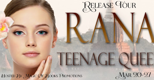 RANA: TEENAGE QUEEN by Liza O'Connor