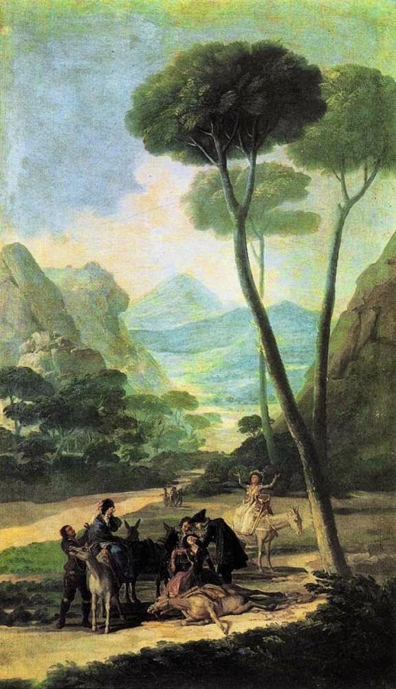 A Queda - Goya, Francisco e suas pinturas ~ Foi um importante pintor espanhol da fase do Romantismo