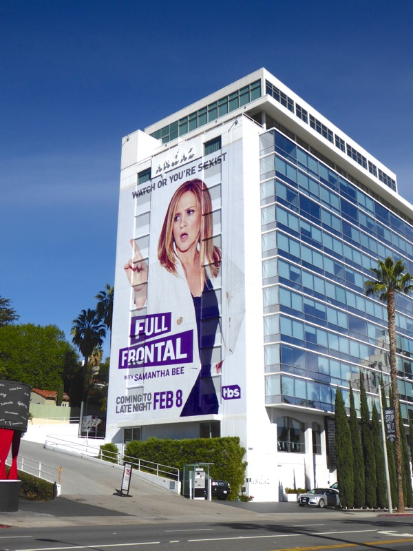 Giant Full Frontal series billboard