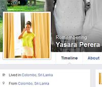 Imesha Yasara's FB profile turns into mode of remembrance