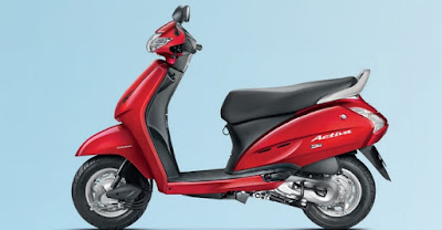 Honda Activa 3G side red wallpaper //HD