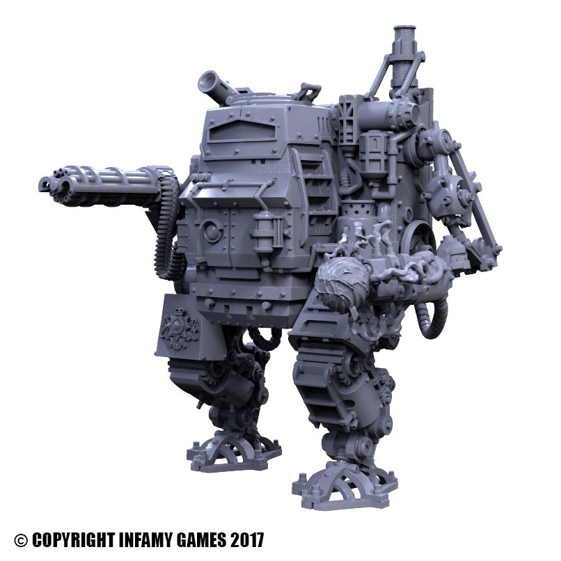 Wargame News And Terrain Infamy Miniatures New Steampunk