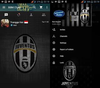Download BBM Mod Juventus
