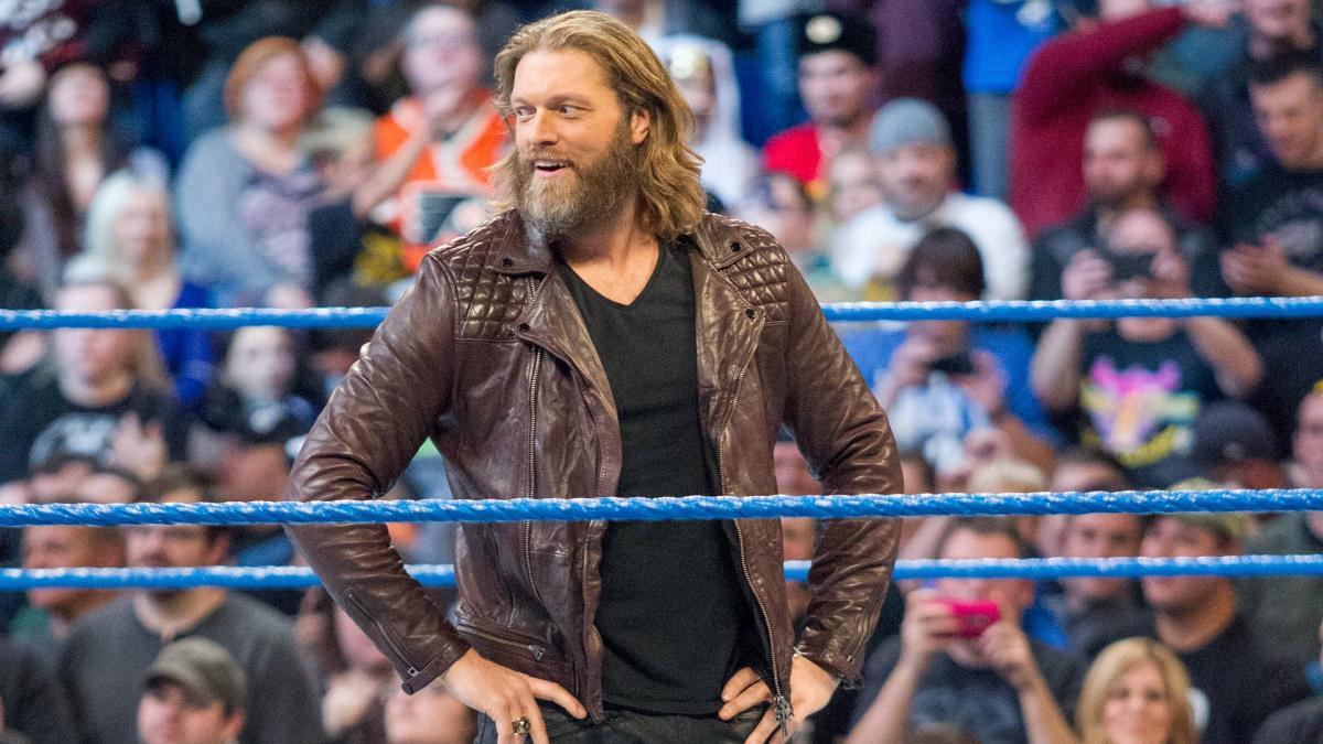 Edge revela quem foi que o ajudou a treinar para seu retorno aos ringues