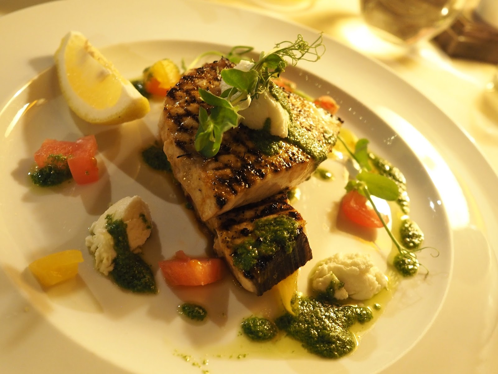 Swordfish Le Caveau, excellent French restaurant in Skipton, North Yorkshire
