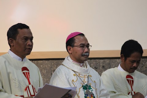Penerimaan Sakramen Penguatan di Paroki Boyolali