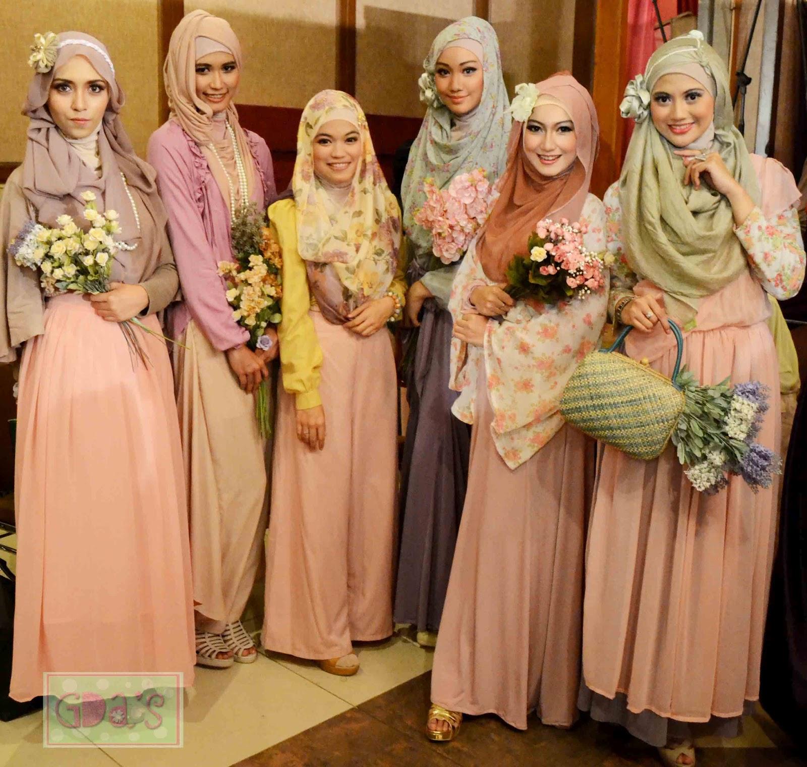 82 Gambar Keren Tutorial Hijab Untuk Fashion Show Terbaru