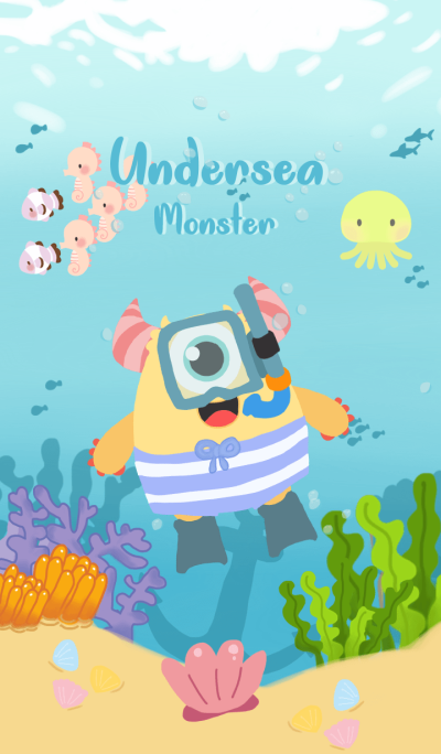 Undersea monster