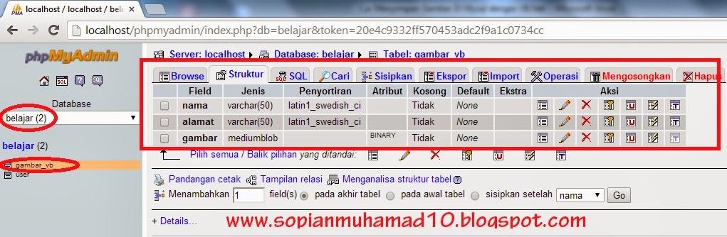 New Generation: Cara Menyimpan Gambar Di MySQL dengan VB.Net