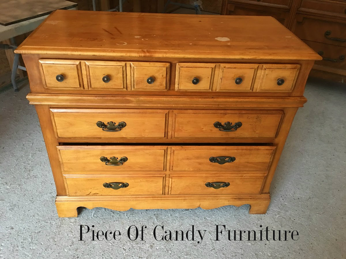 Piece Of Candy Furniture: Stained Navy Blue Bedroom Set...
