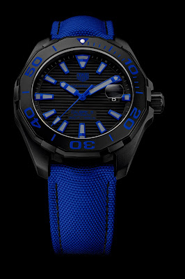 3635bc675f2 TAG Heuer Aquaracer Black Titanium 300 M. Caixa de 43mm