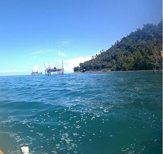 wisata terpendam pulau radayan