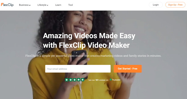 Create and edit videos online for free