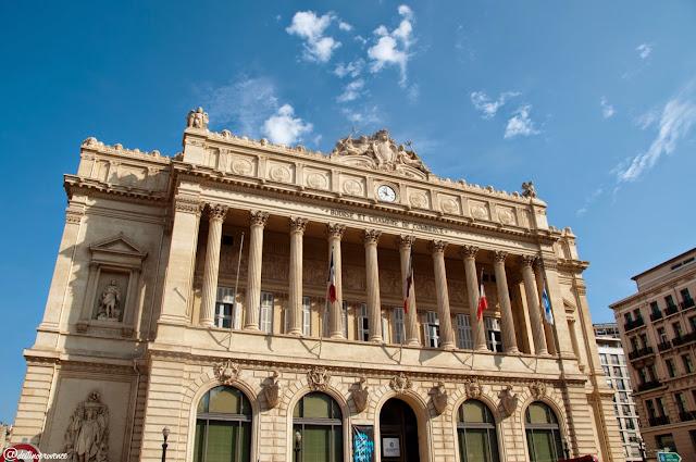 Palácio da Bolsa em Marselha