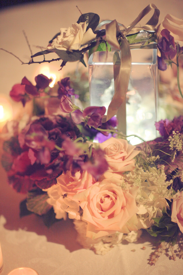 Rustic+classic+traditional+black+tie+platinum+wedding+bride+groom+rowing+country+club+purple+modern+succulents+succulent+centerpieces+lighting+lights+Gideon+Photography+32 - Black Tie & Cowboy Boots Required