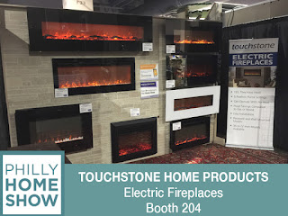 Touchstone Electric Fireplaces at the 2017 Philly Home Show