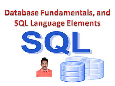 Database Server instance contains multiple databases Database Fundamentals, together with SQL Language Elements