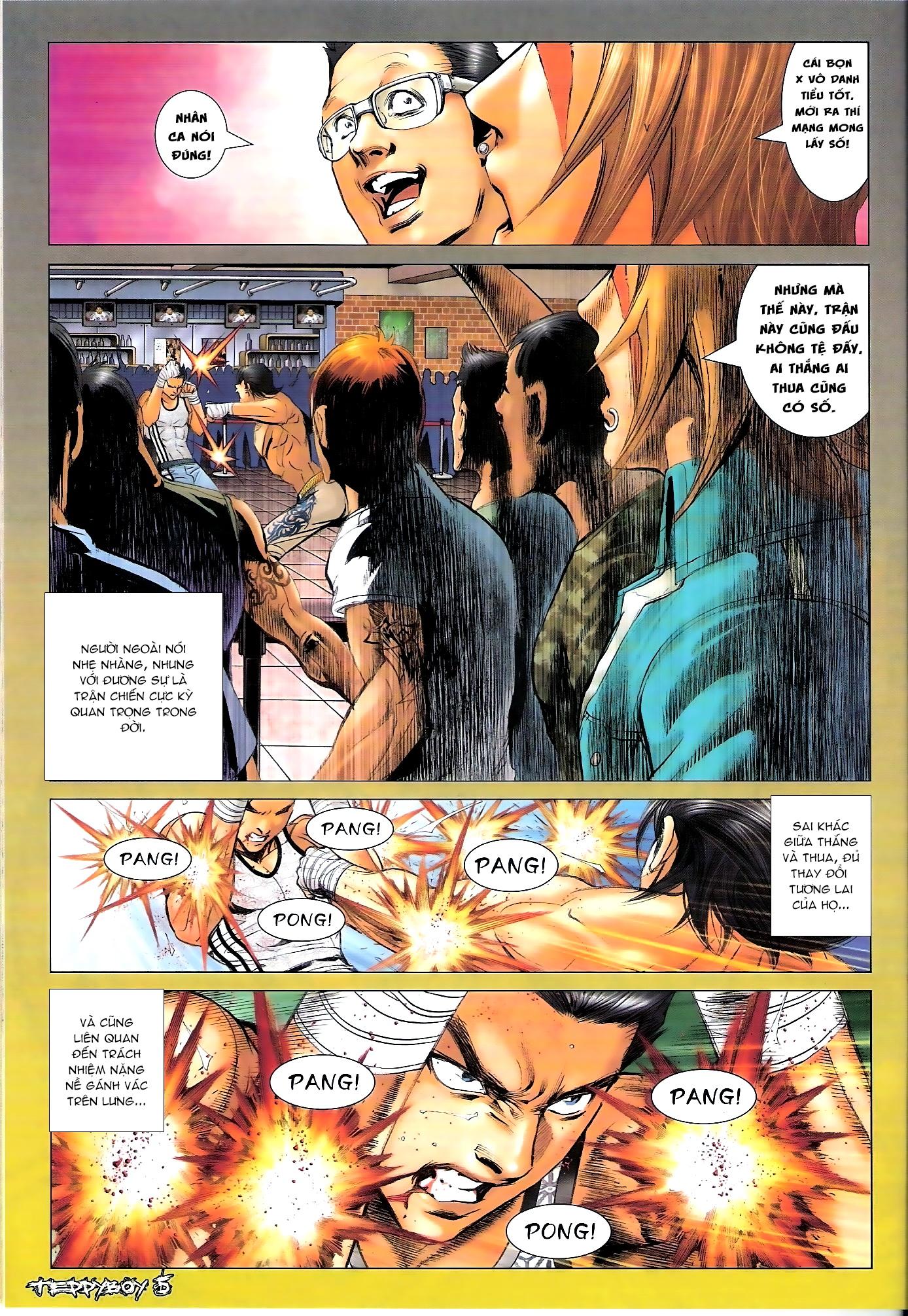 Người Trong Giang Hồ - Chapter 1307: Vinh Nhục Nhất Chiến 2 - Pic 4
