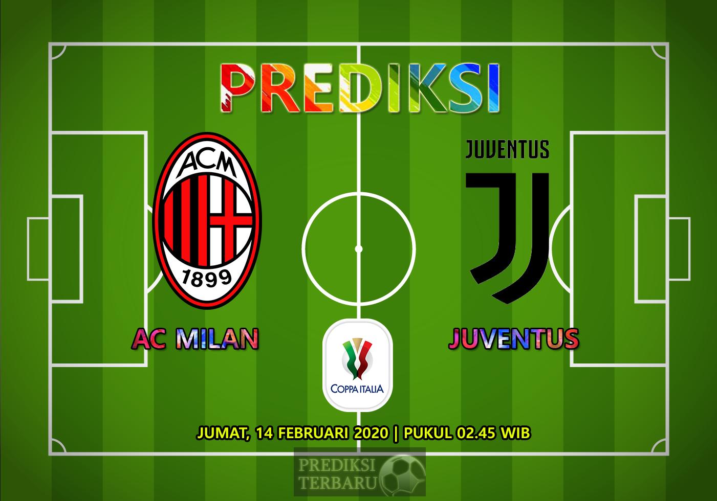 Prediksi Milan Vs Juventus 14 Februari