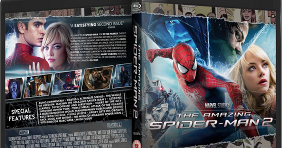 The Amazing Spider-Man 2 (2014) Bluray Hindi Dubbed Audio ~ ActualTracks