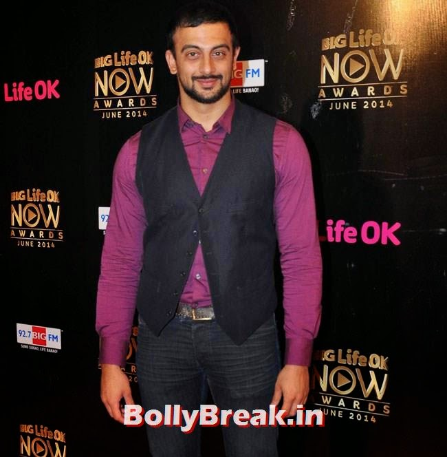 Arunoday Singh, Life OK Now Awards 2014 Red Carpet Pics