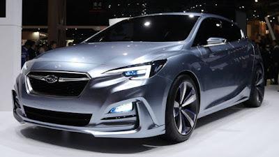 LA Auto Show 2017 Concept Subaru Impreza Sedan front view
