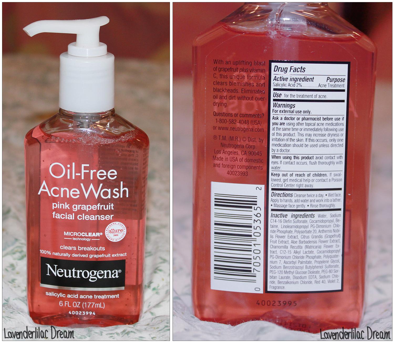Review Neutrogena Oil Free Acne Wash Pink Grapefruit Facial