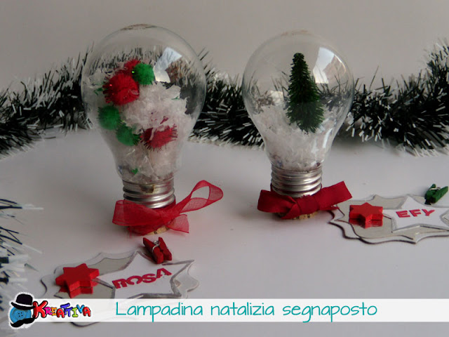 Riciclo Lampadine Natale ~ dragtime for