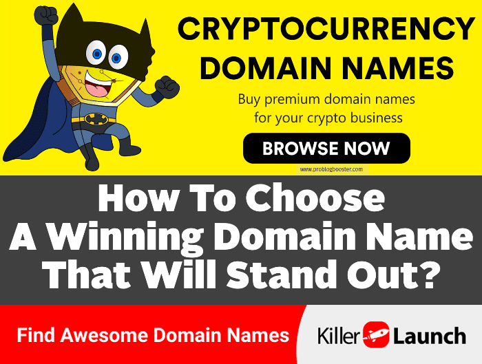 How To Choose A Winning Domain Name That Will Stand Out?