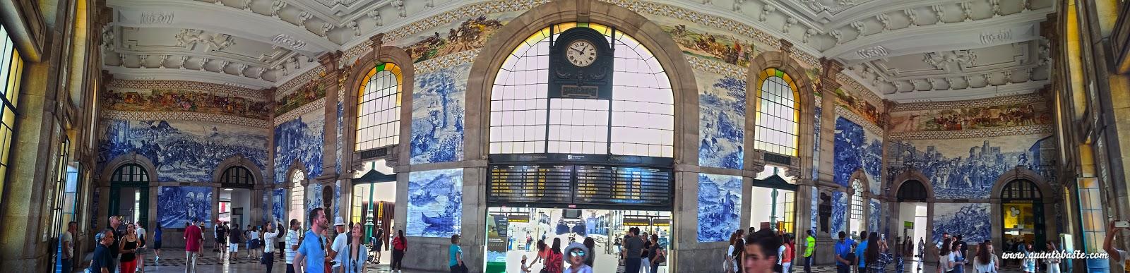 Interior Estação de São Bento Porto