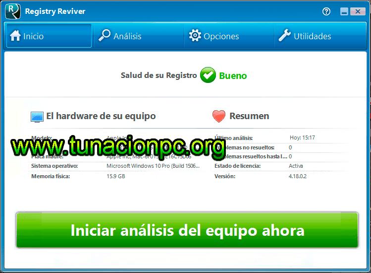 ReviverSoft Registry Reviver 4.16.0.12 Imagen