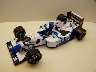 Ligier JS39 - Martin Brundle - GP Japan 1993 (M. Fabian)