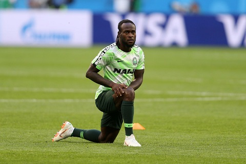 """Even If Victor Moses Wants To Leave The National Team, There Must Be A Ceremony For Him"" - NFF President Pinnick"