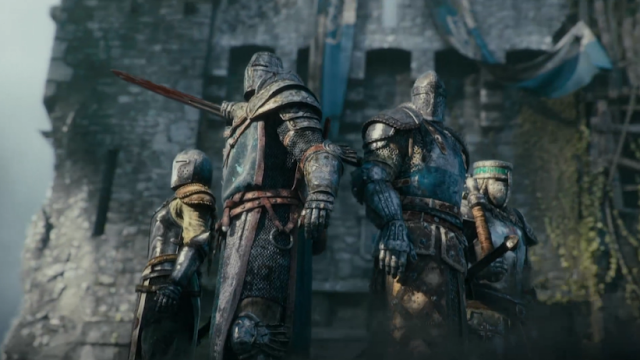 For Honor Ubisoft Vikings knights