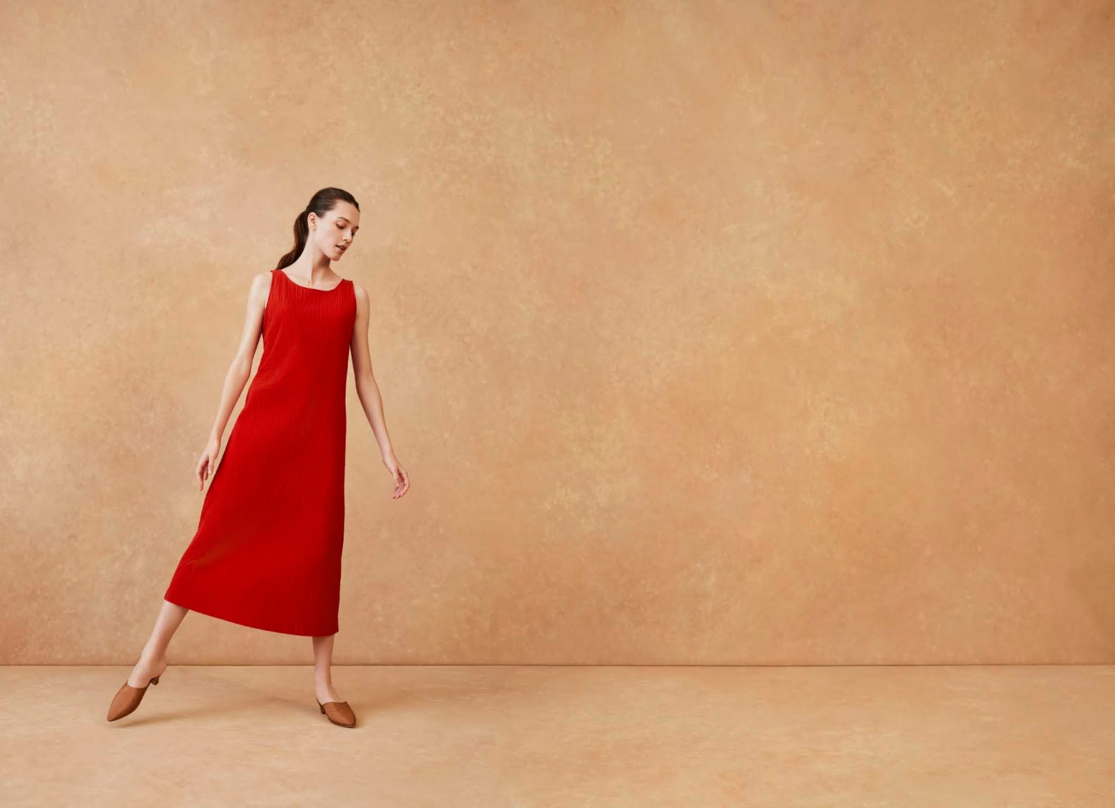 """83021f5755a217 Ms. Tajima commented, """"I created this collection so women can match their  styling preferences to their lifestyles. Another key design focus was to  offer ..."""